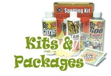 Carpet Cleaning Kits and Package Deals